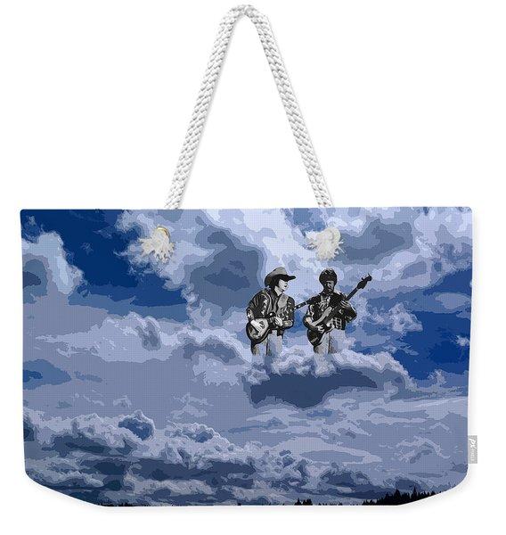 Tucker Boys In The Clouds 2 Weekender Tote Bag