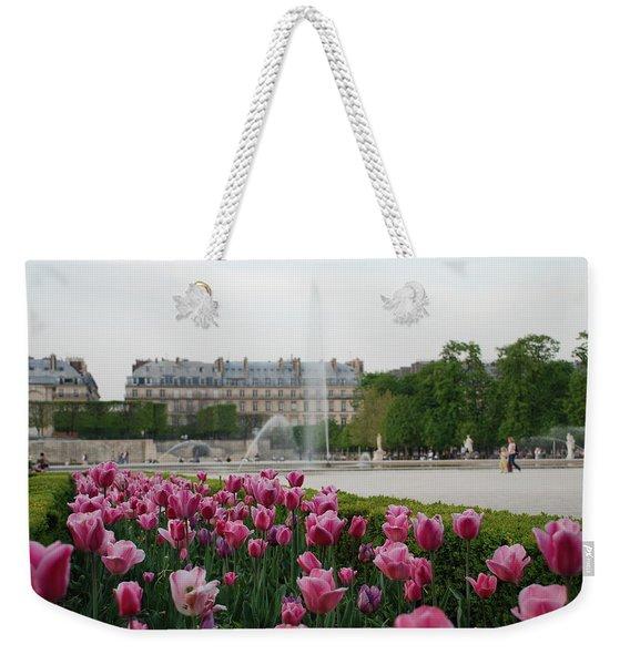 Tuileries Garden In Bloom Weekender Tote Bag