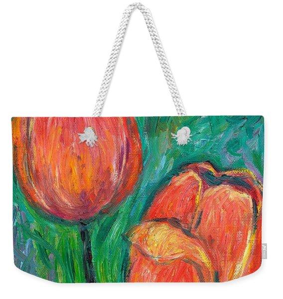 Tulip Dance Weekender Tote Bag
