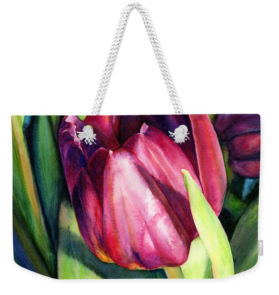 Tulip Delight Weekender Tote Bag