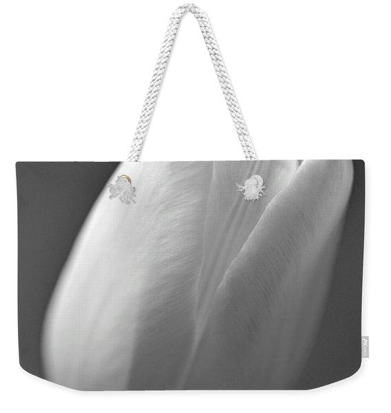 Tulip In Black And White Weekender Tote Bag