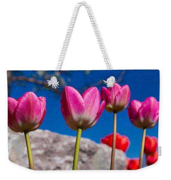 Tulip Revival Weekender Tote Bag