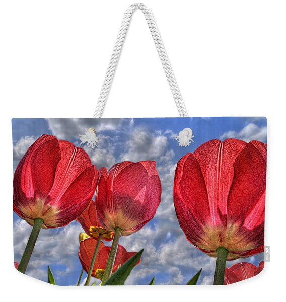 Tulips Are Better Than One Weekender Tote Bag