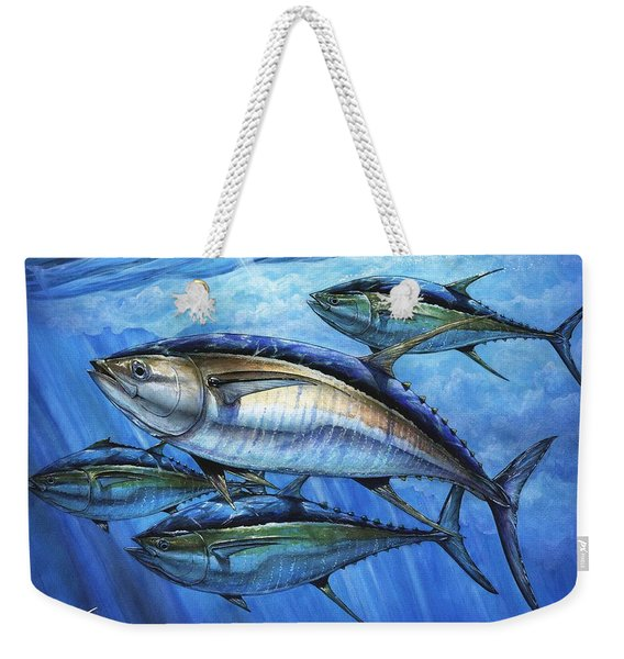 Tuna In Advanced Weekender Tote Bag