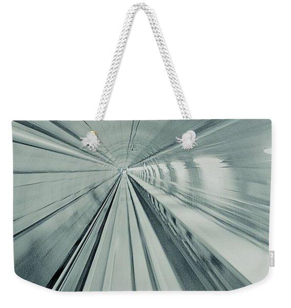Tunnel Weekender Tote Bag