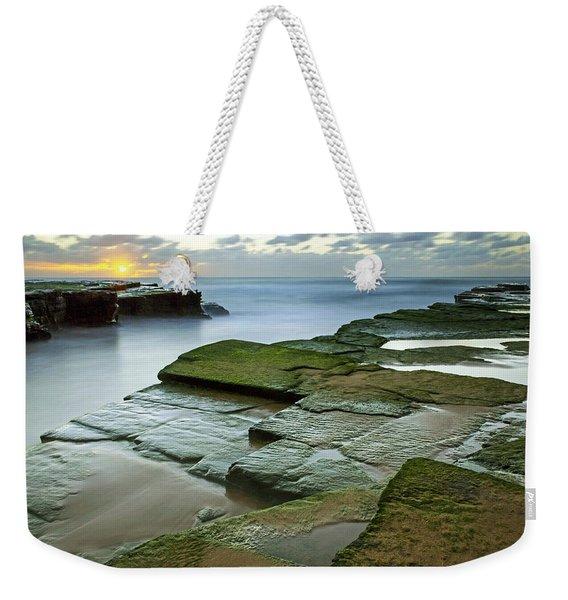 Turimetta Beach Sunrise Weekender Tote Bag