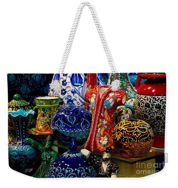 Turkish Ceramic Pottery 2 Weekender Tote Bag