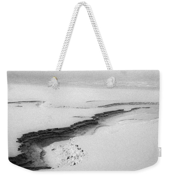 Weekender Tote Bag featuring the photograph Turnagain Silk by Tim Newton