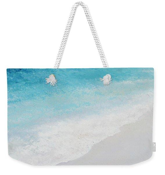 Turquoise Ocean 4 Weekender Tote Bag