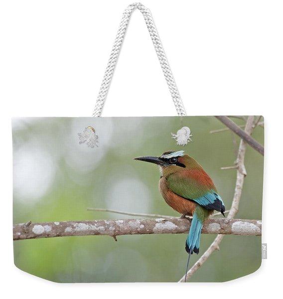 Turquoise Pendant.. Weekender Tote Bag