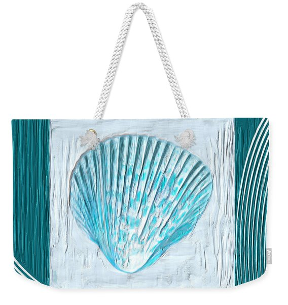 Turquoise Seashells Xxiii Weekender Tote Bag