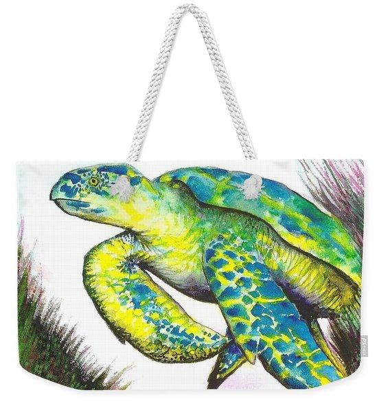 Turtle Wonder Weekender Tote Bag