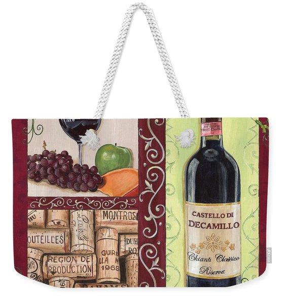 Tuscan Collage 2 Weekender Tote Bag