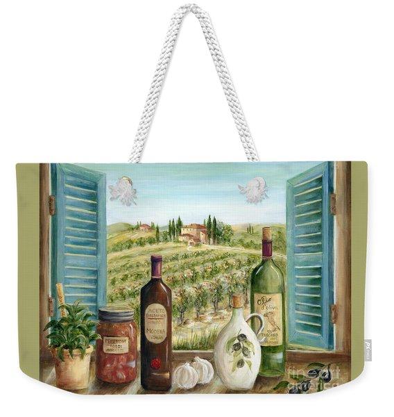 Tuscan Delights Weekender Tote Bag