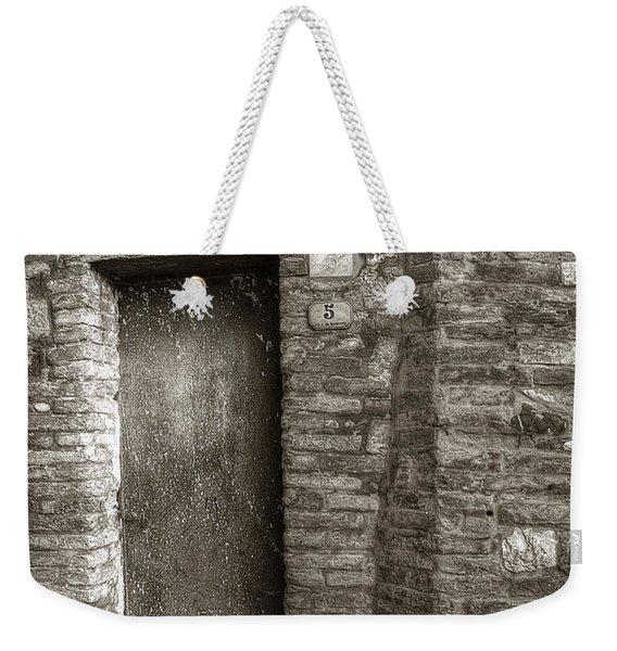 Tuscan Doorway Weekender Tote Bag