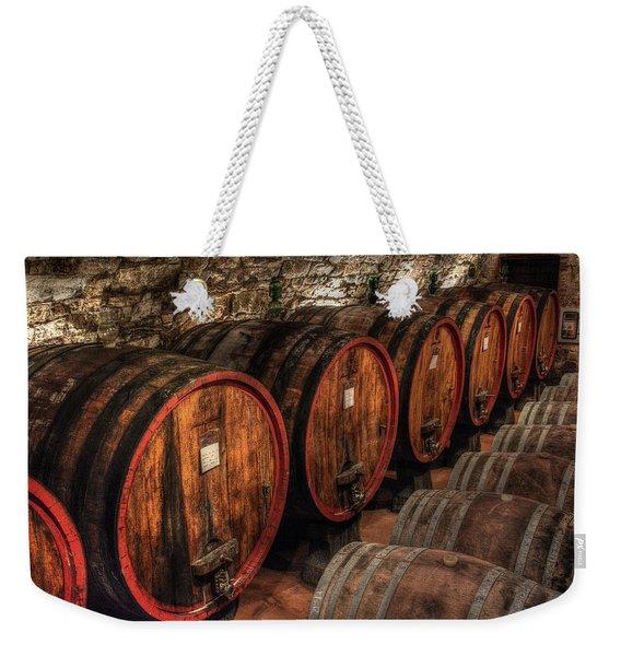 Tuscan Wine Cellar Weekender Tote Bag