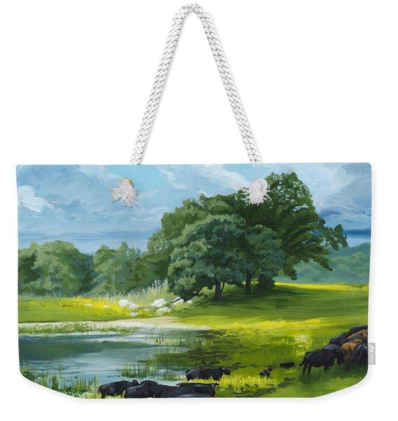 Twenty Third Psalm Weekender Tote Bag