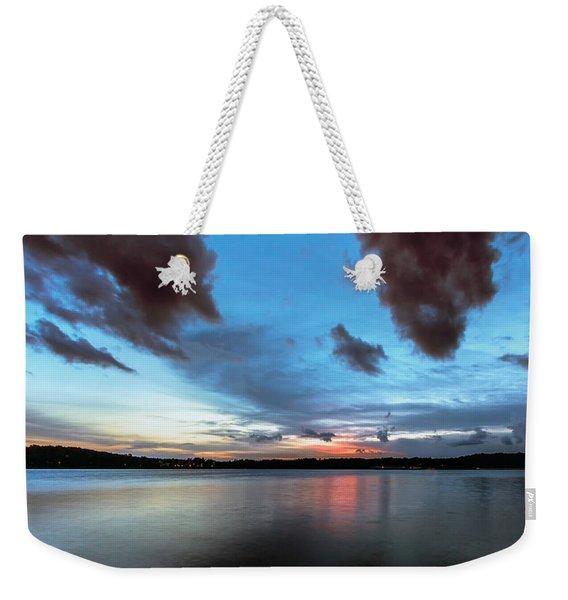 Twilight On Lake Lanier Weekender Tote Bag