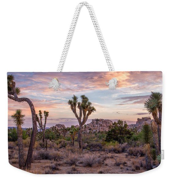 Twilight Comes To Joshua Tree Weekender Tote Bag