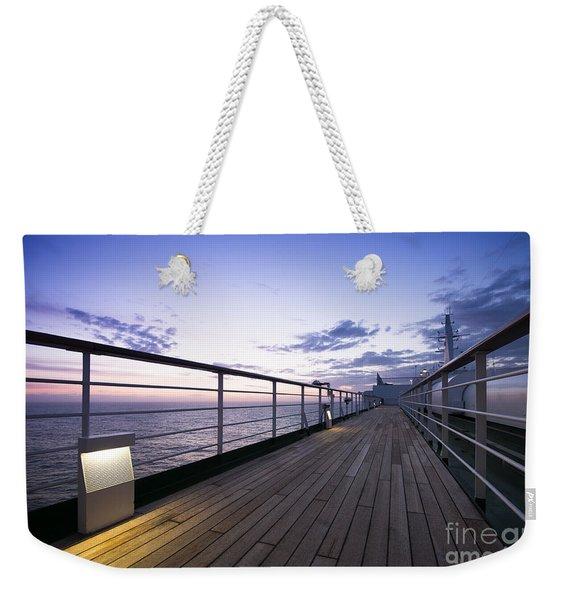 Twilight Deck Weekender Tote Bag