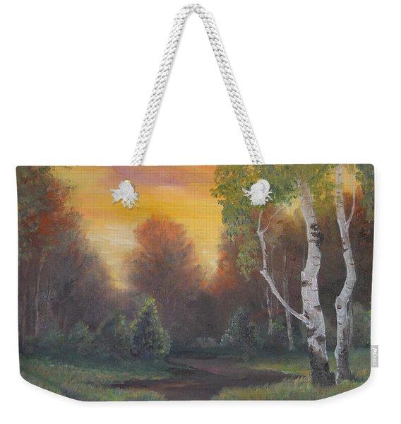 Twilight Fall  Weekender Tote Bag