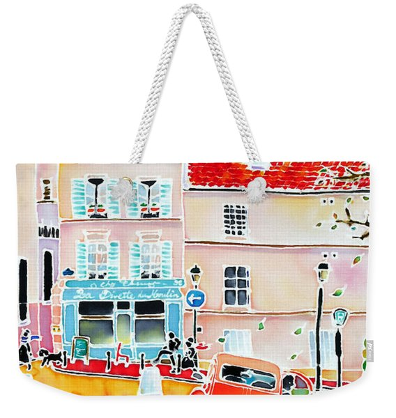 Twilight Montmartre Weekender Tote Bag