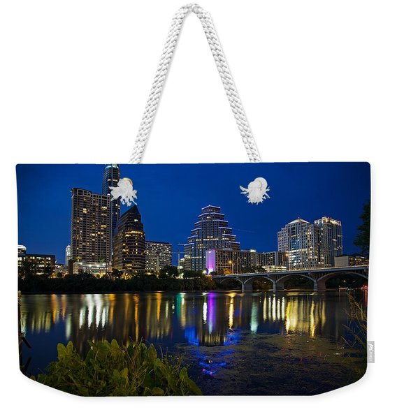 Twilight Reflections Weekender Tote Bag