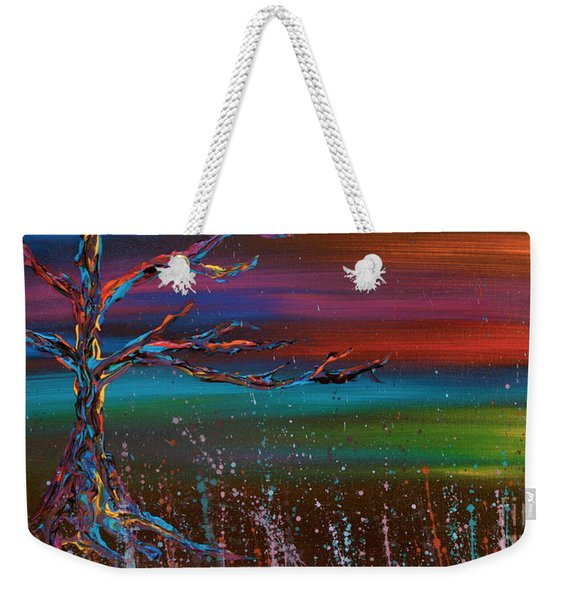 Twilight Sun Weekender Tote Bag