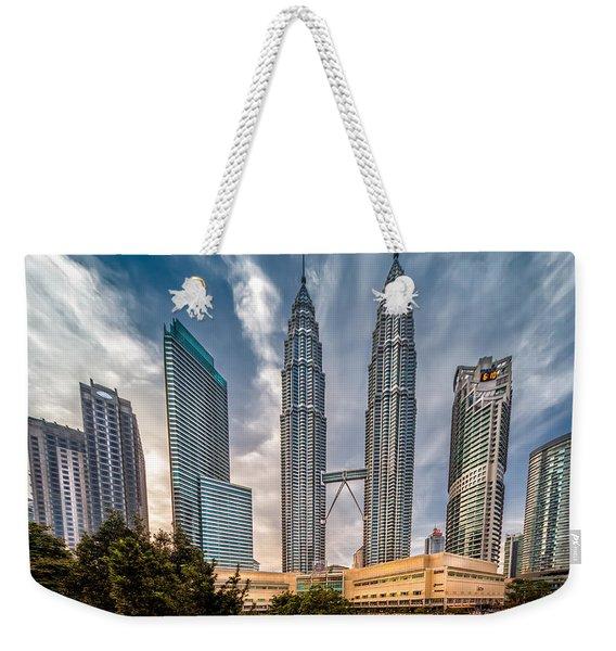 Twin Towers Kl Weekender Tote Bag