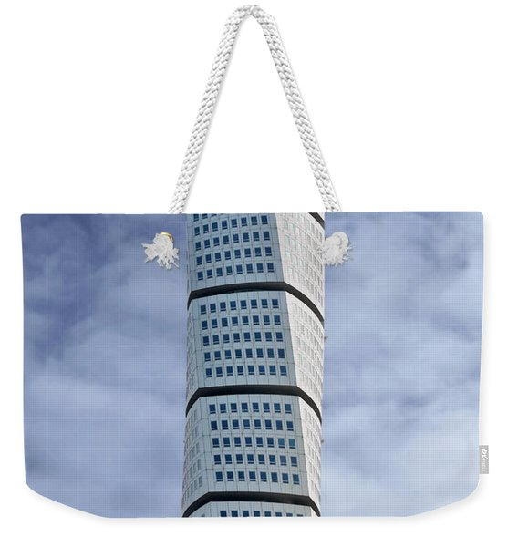Twisted Architecture Weekender Tote Bag