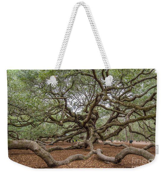 Twisted Limbs Weekender Tote Bag