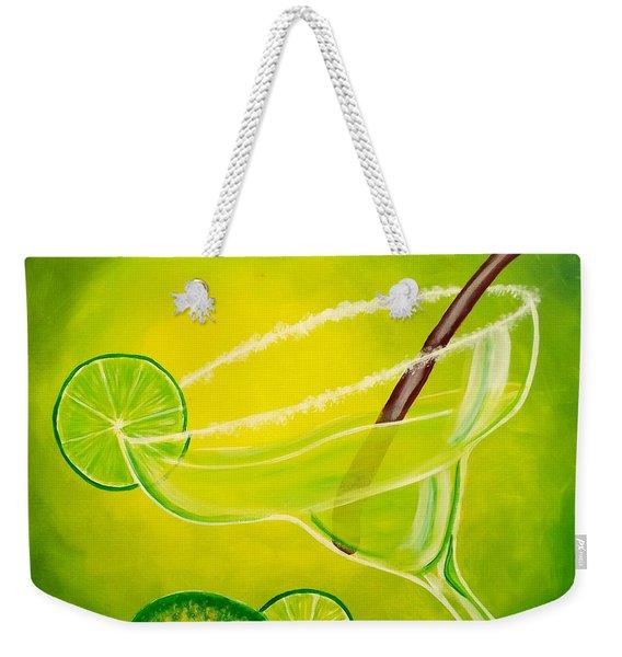 Twisted Margarita Weekender Tote Bag