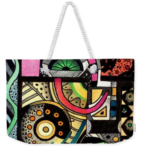 Twisting And Turning Weekender Tote Bag