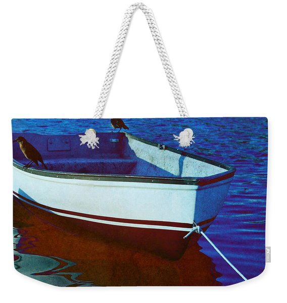 Delphin Squared Weekender Tote Bag
