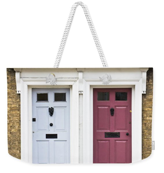 Two Doors Weekender Tote Bag