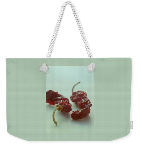 Two Dried Peppers Weekender Tote Bag