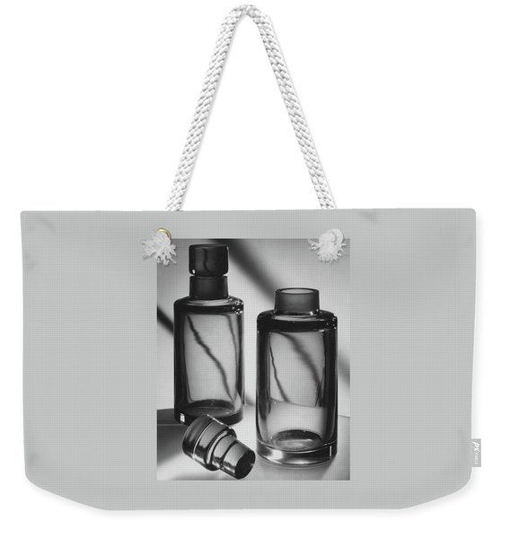 Two Glass Decanters Weekender Tote Bag