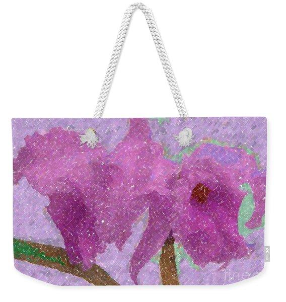 Two Hothouse Beauties Weekender Tote Bag