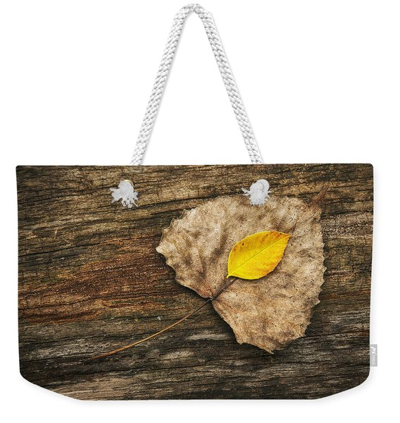 Two Leaves  Weekender Tote Bag
