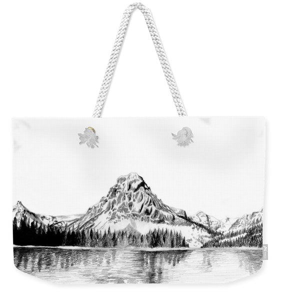 Two Medicine Mountain Weekender Tote Bag