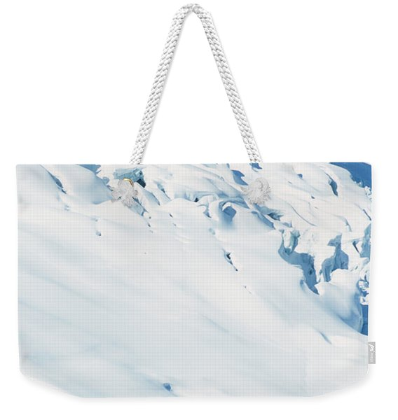 Two Mountaineers High On The Slopes Weekender Tote Bag