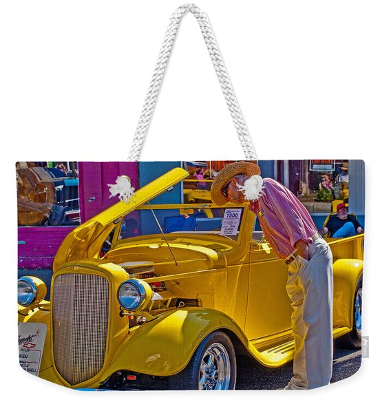 Two Old Timers  Weekender Tote Bag