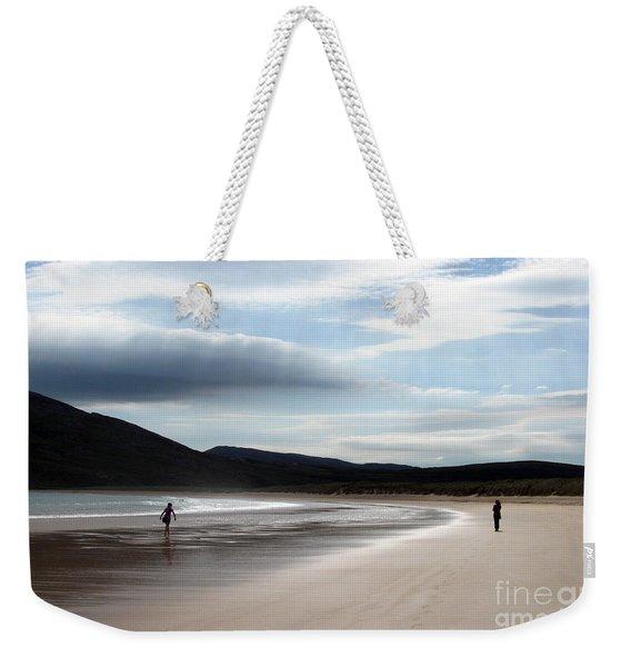 Two On A Beach Weekender Tote Bag