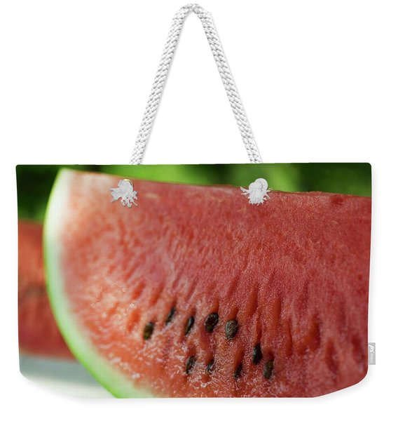 Two Slices Of Watermelon Weekender Tote Bag