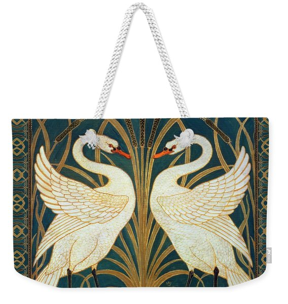 Two Swans Weekender Tote Bag