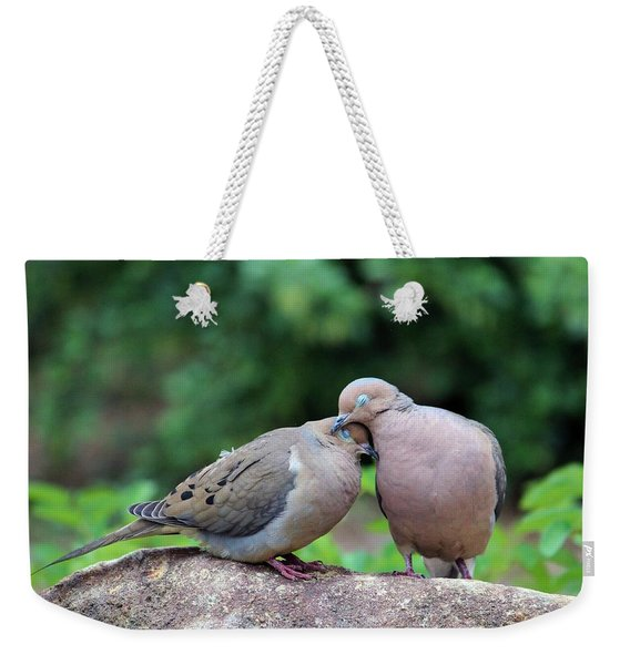 Two Turtle Doves Weekender Tote Bag