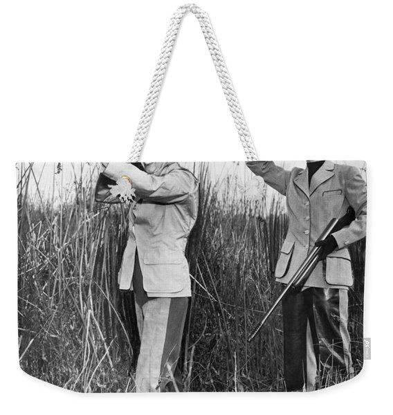 Two Women Hunting Weekender Tote Bag