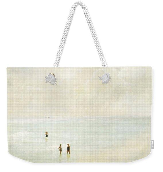 Two Women One Man Weekender Tote Bag