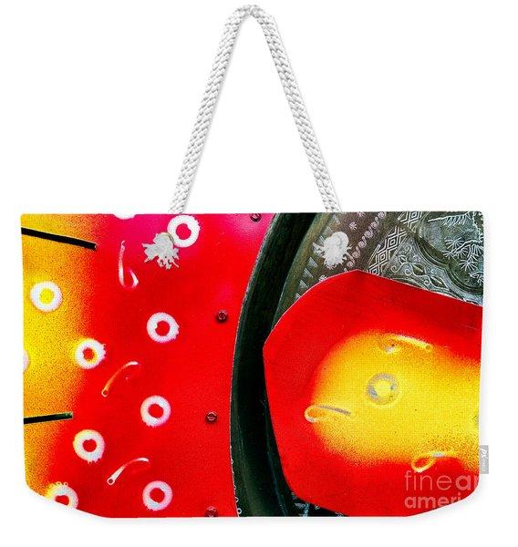 Tybee Island Art Weekender Tote Bag