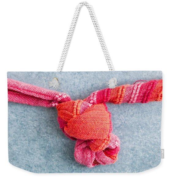 Tying A Knot Weekender Tote Bag